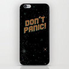 Don't Panic! Pixel Art iPhone Skin