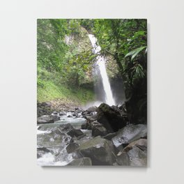 Hard Water Metal Print