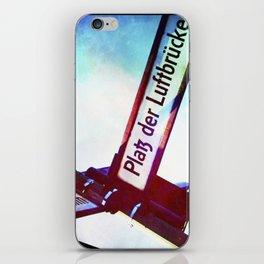 :: BERLIN STREET iPhone Skin