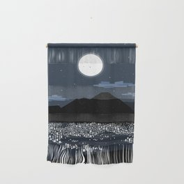 Caracas City at Night by Friztin Wall Hanging