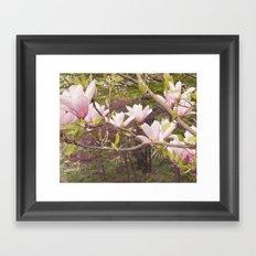Pink Melodies Framed Art Print
