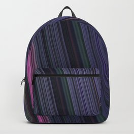 Fractal Linear Violet Backpack