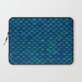 Mermaid scales iridescent sparkle Laptop Sleeve