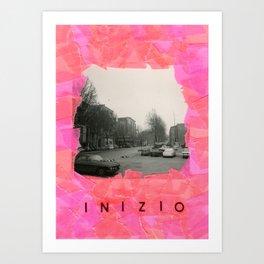 Inizio - Venecia Como Llegar Art Print