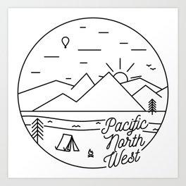 Pacific Northwest 2 Art Print