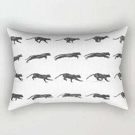 Cat Jump Rectangular Pillow