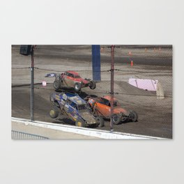 No there not Baby Buggies. Canvas Print
