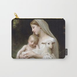 """William-Adolphe Bouguereau """"L'Innocence (Innocence)""""(1893) Carry-All Pouch"""