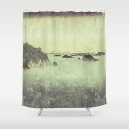 Long Ways to Inchen Shower Curtain