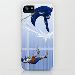 Don't You Dair iPhone Case