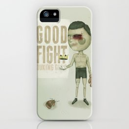 GO THE DISTANCE iPhone Case