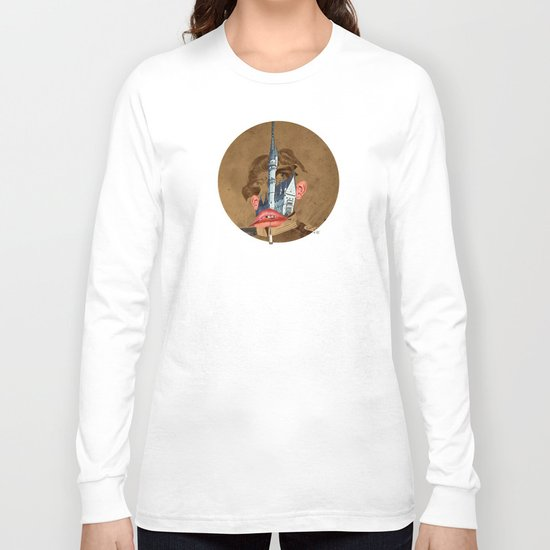 King Lui Collage Long Sleeve T-shirt