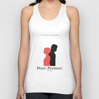 pride and prejudice Tank Tops featuring Pride and Prejudice by Abbie Imagine