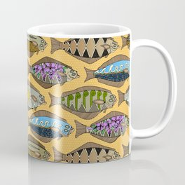Alaskan halibut sungold Coffee Mug