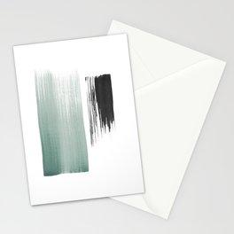 sage & black Stationery Cards