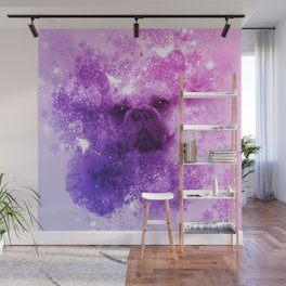 French Bulldog Christmas Holidays Wall Mural