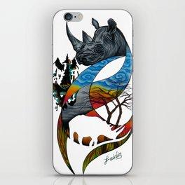 Black Rhino iPhone Skin