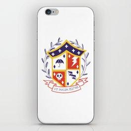 The Umbrella Academy Shield iPhone Skin