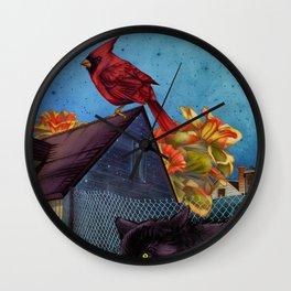 Gideon da Champ Wall Clock