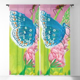 The Butterfly, the Ant and Sainfoin  Blackout Curtain
