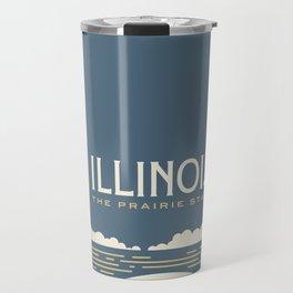 Illinois - Redesigning The States Series Travel Mug