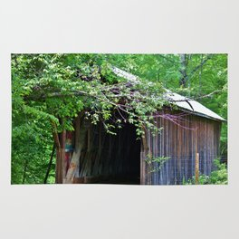 Bunker Hill Covered Bridge Rug
