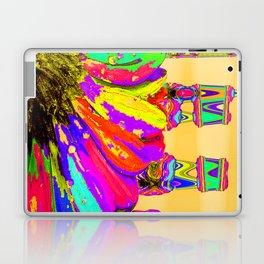 Rainbow Abstract Daisy Laptop & iPad Skin
