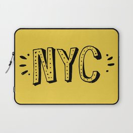 NYC lettering series: #2 Laptop Sleeve