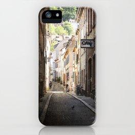 Urban Side Street. iPhone Case