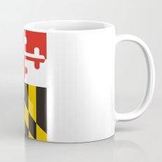 maryland state state flag united states of america country Mug