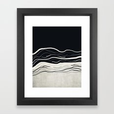 Minimal collection 02 Framed Art Print