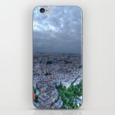 Nighttime in Paris iPhone & iPod Skin