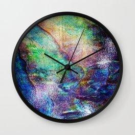 Mermaid Sea Ocean Shell Wall Clock