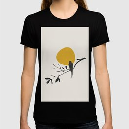 Bird and the Setting Sun T-shirt