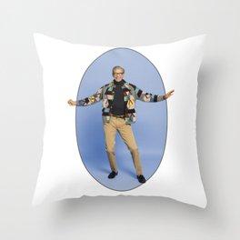 The Magnificent Jeff Goldblum Throw Pillow