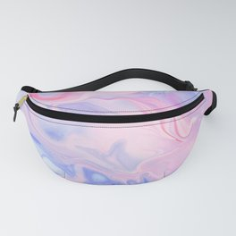 Pink & Purple Marble Watercolor Fanny Pack
