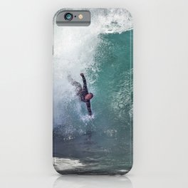 Bodysurfing Newport Wedge  4-30-13 / JT  iPhone Case