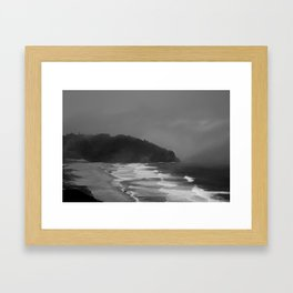 California's Dust Framed Art Print