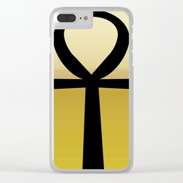 Ankh (Life)3 Clear iPhone Case
