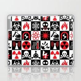 Hazard Danger Icons Laptop & iPad Skin