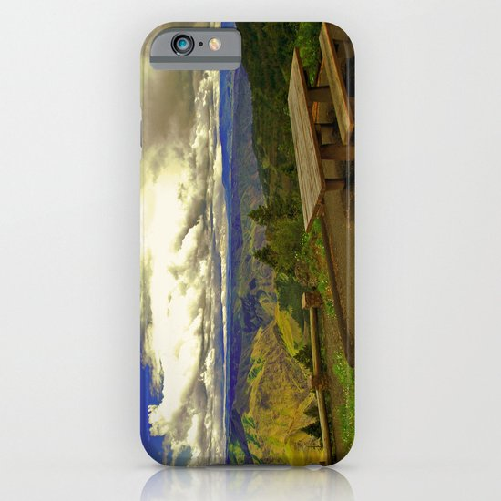 Table with a View iPhone & iPod Case