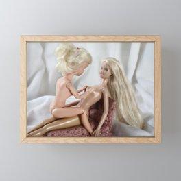 Personally Plastic Framed Mini Art Print