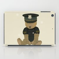 police iPad Cases featuring police ted  by bri.buckley