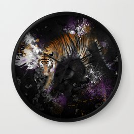 Step Into Death Valley Wall Clock