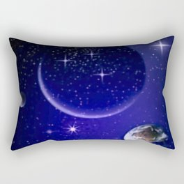 Fantastic yourney into space. Rectangular Pillow