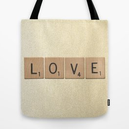 Love & Glitter Tote Bag