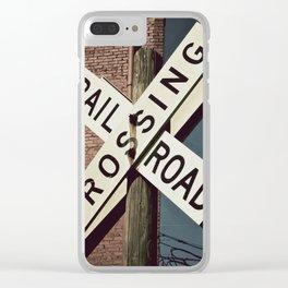 Crossroads Clear iPhone Case