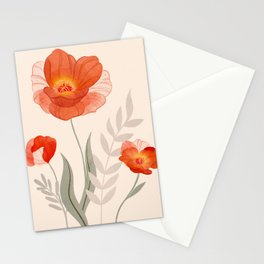 Summer Flowers II Stationery Cards