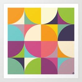 Quarters Quilt 4 Art Print