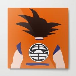 Goku (Dragon Ball) Metal Print